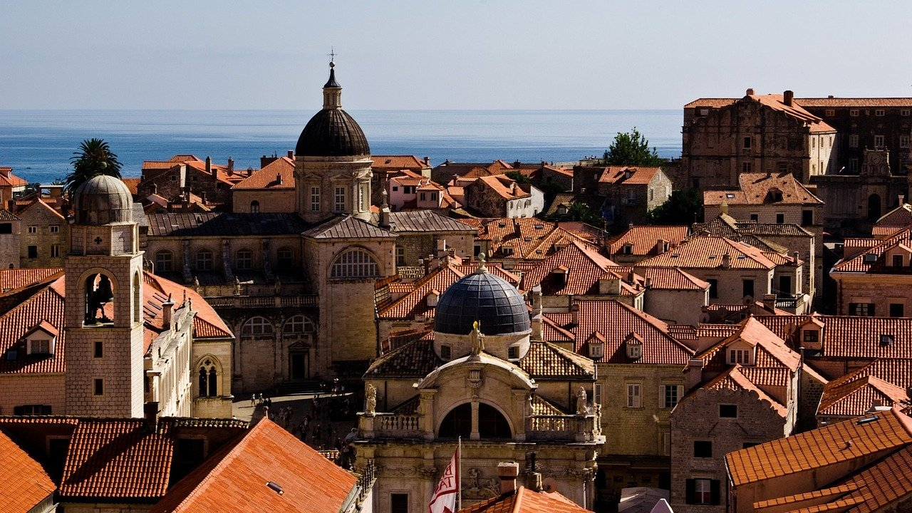 la vieille ville de dubrovnik